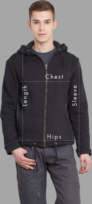 Men Jackets Sizing