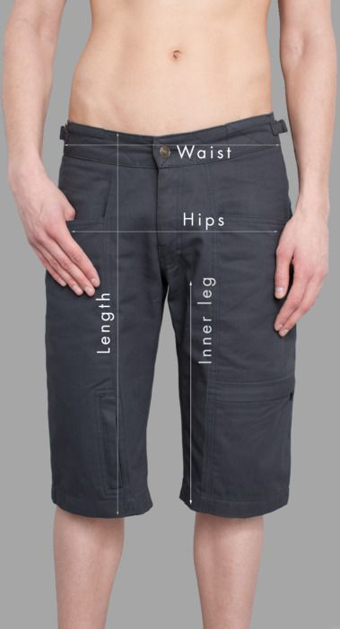 Men Pants Sizing