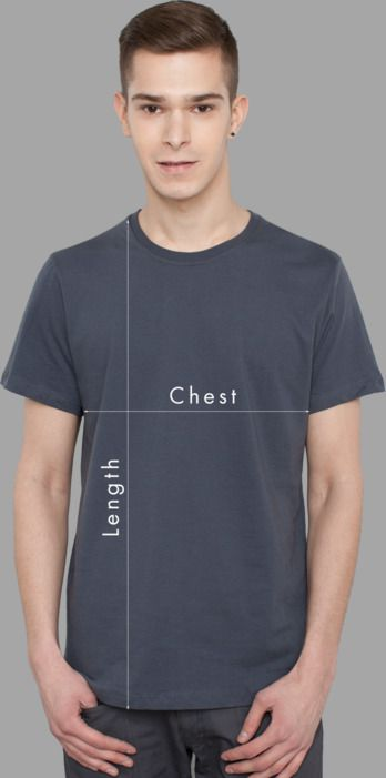 Men T-Shirts Sizing