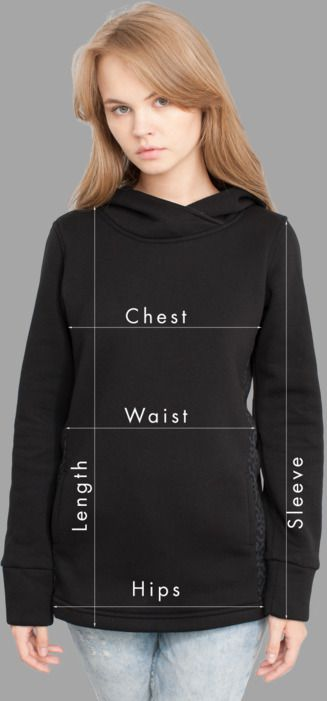 Women Sweatshirts Sizing
