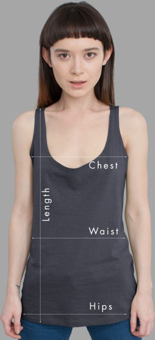 Women Tank Tops Sizing