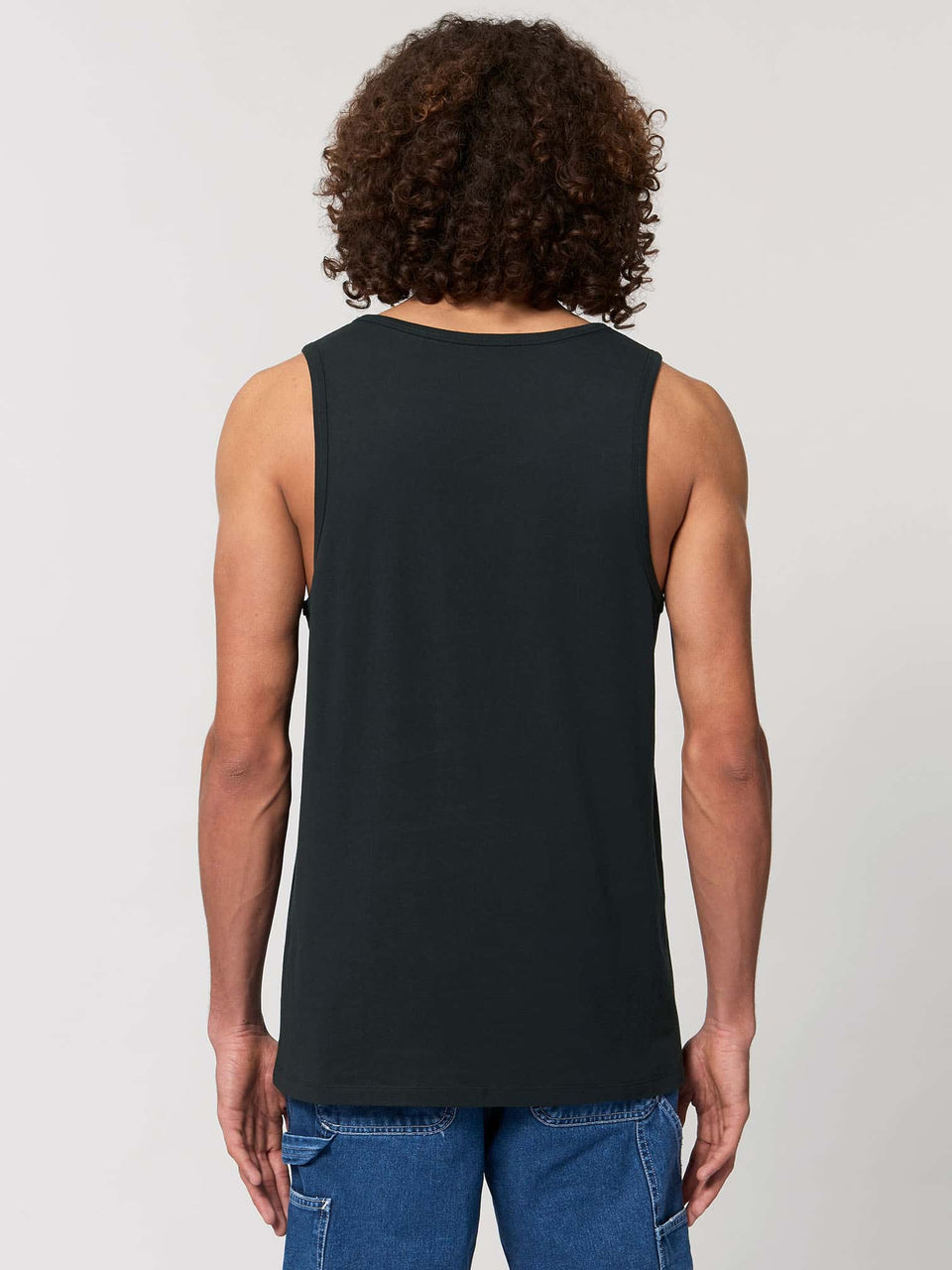 Butterfly Morph Made To Order Men Tank Top - Black