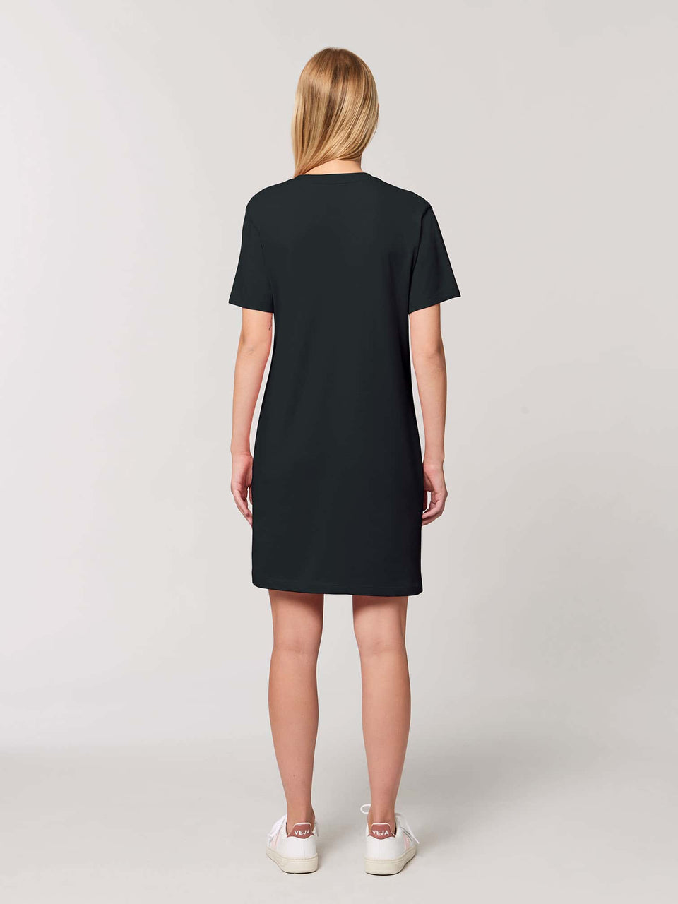 Bufo Alvarius Made To Order Women t-shirt Dress - Black