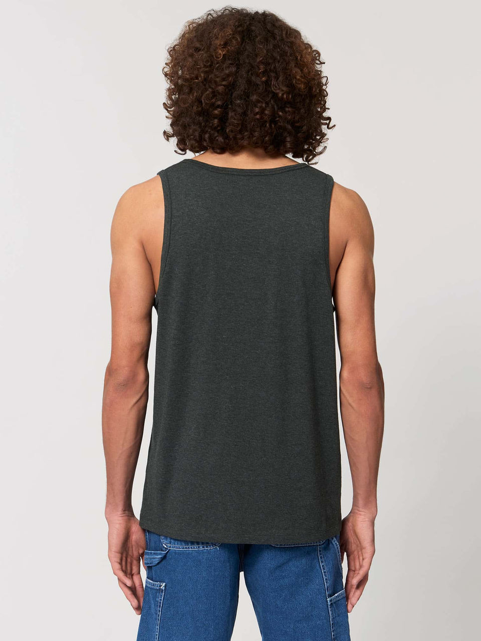 Butterfly Morph Made To Order Men Tank Top - Dark Heather