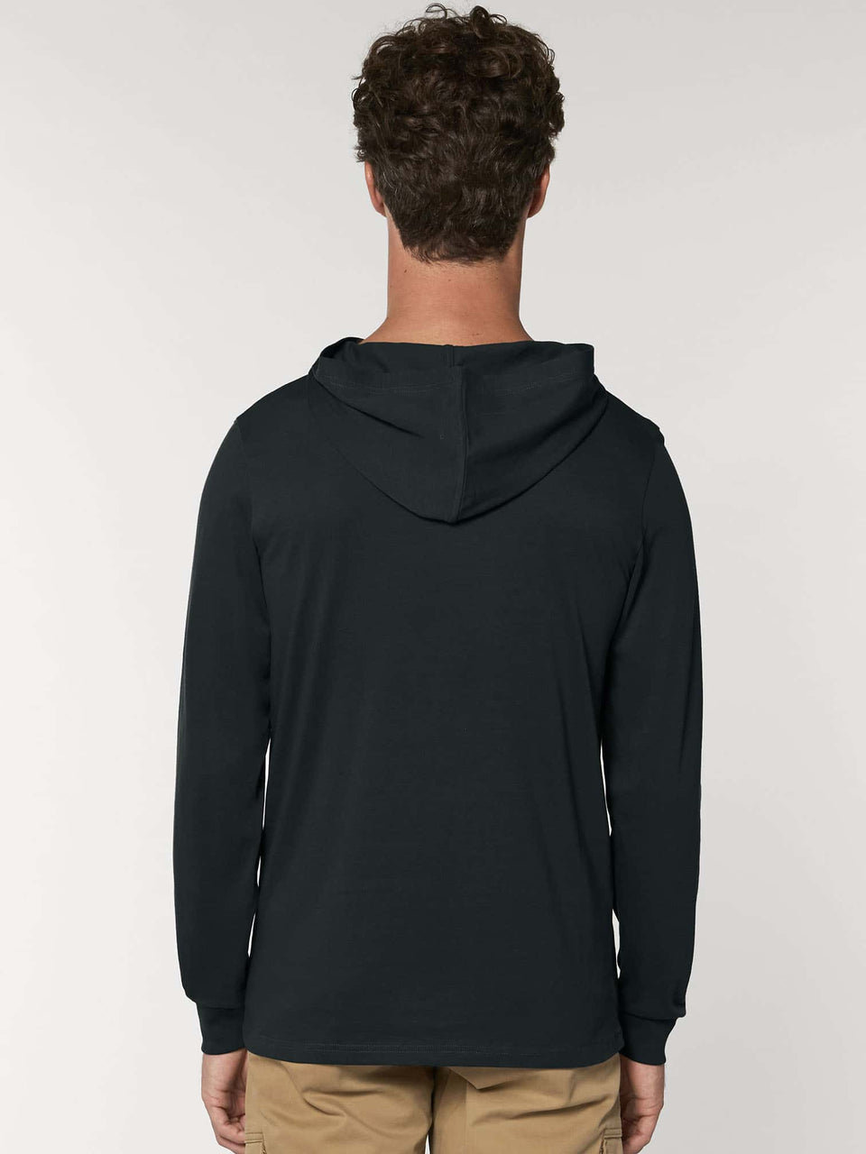 Bufo Alvarius Made To Order Men Hoddie Long Sleeve T- shirt - Black