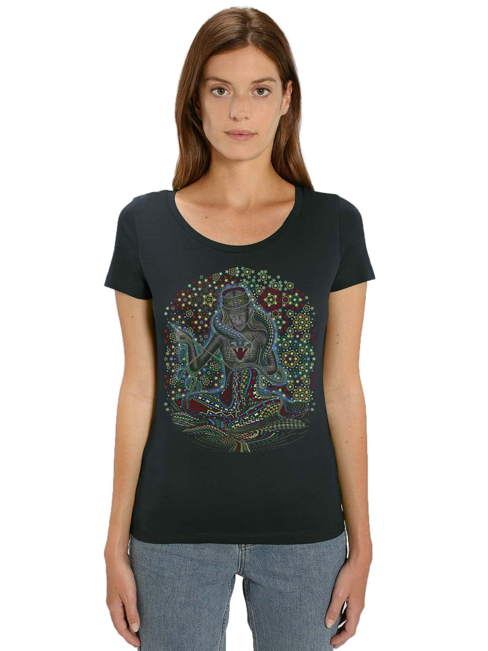 Song Weaving Made To Order Women t-shirt - Black