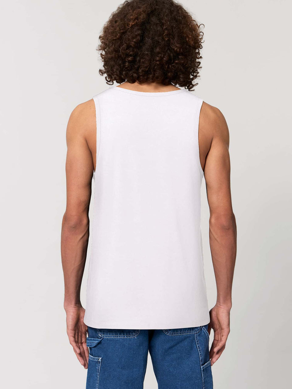 Butterfly Morph Made To Order Men Tank Top - White