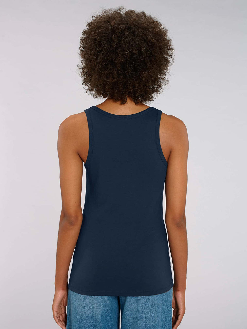 Bufo Alvarius Made To Order Women Tank Top - French Navy