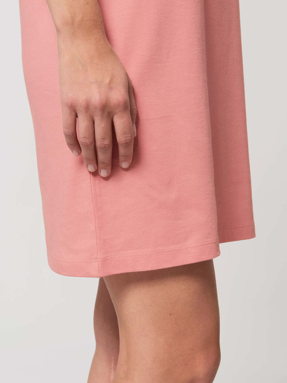 Bufo Alvarius Made To Order Women t-shirt Dress - Canyon Pink