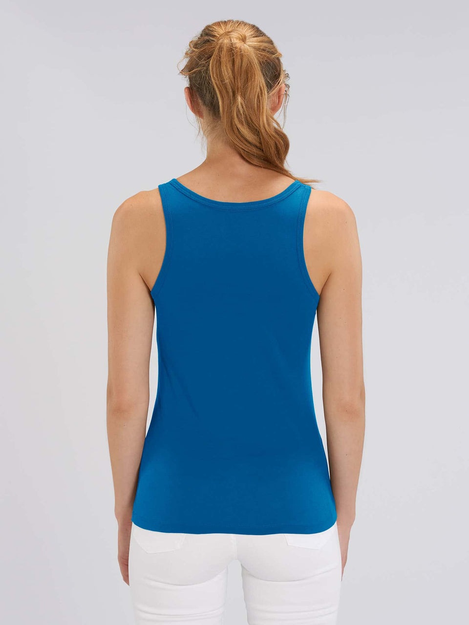 Bufo Alvarius Made To Order Women Tank Top - Royal Blue