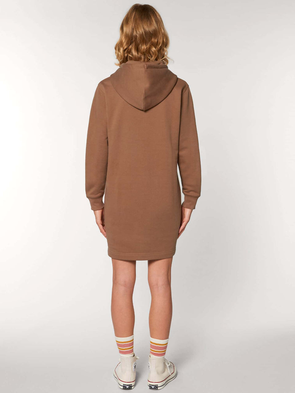 Bufo Alvarius Made To Order Women Hoodie Dress - Caramel