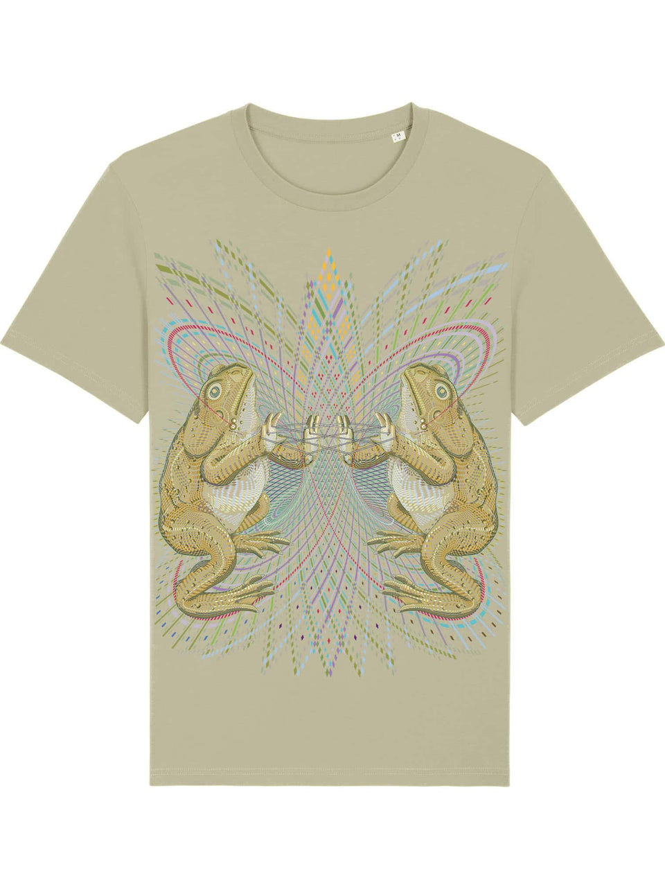 Bufo Alvarius Made To Order Men T-Shirt - Sage