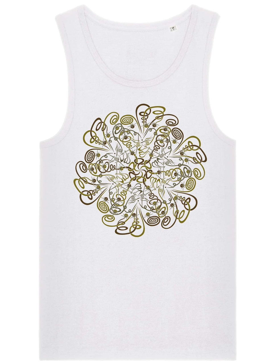 Dymitry Made To Order Men Tank Top - White