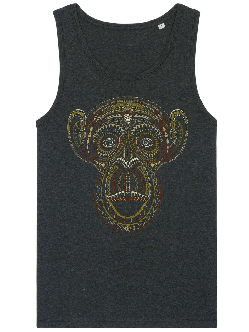 TaMonkey Made To Order Men Tank Top - Dark Heather