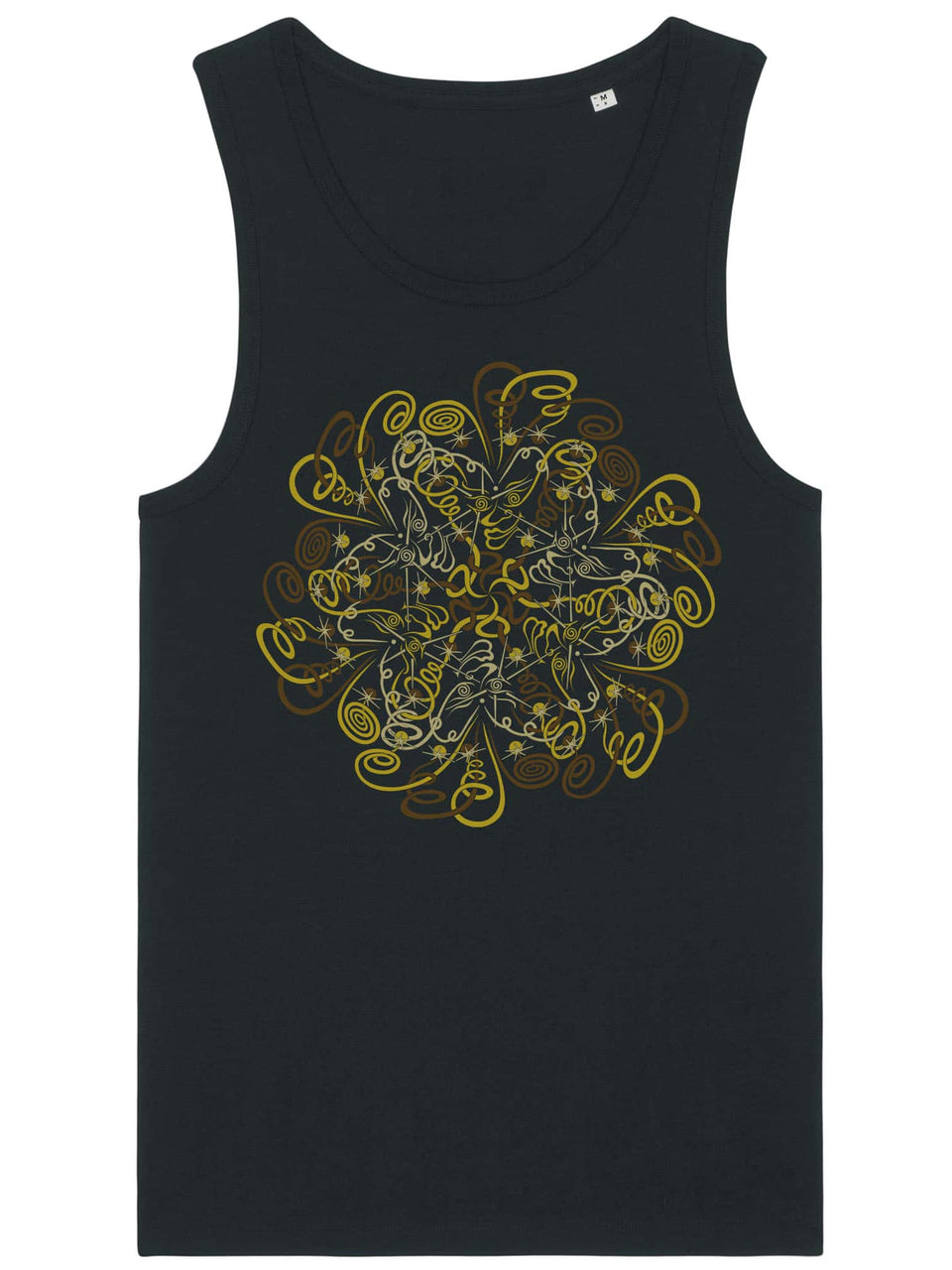 Dymitry Made To Order Men Tank Top - Black
