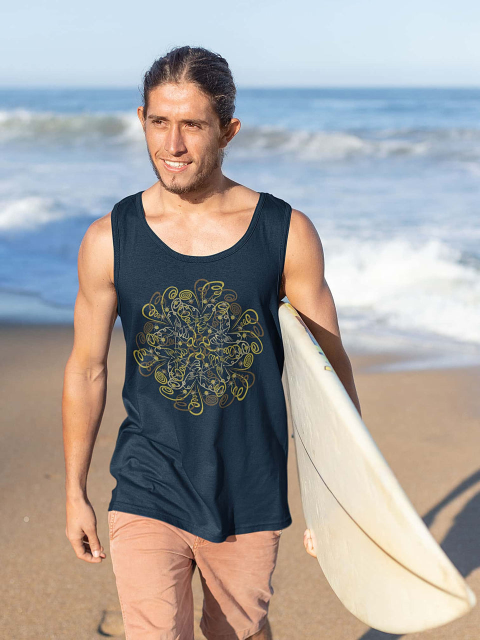 Dymitry Made To Order Men Tank Top - Navy Blue