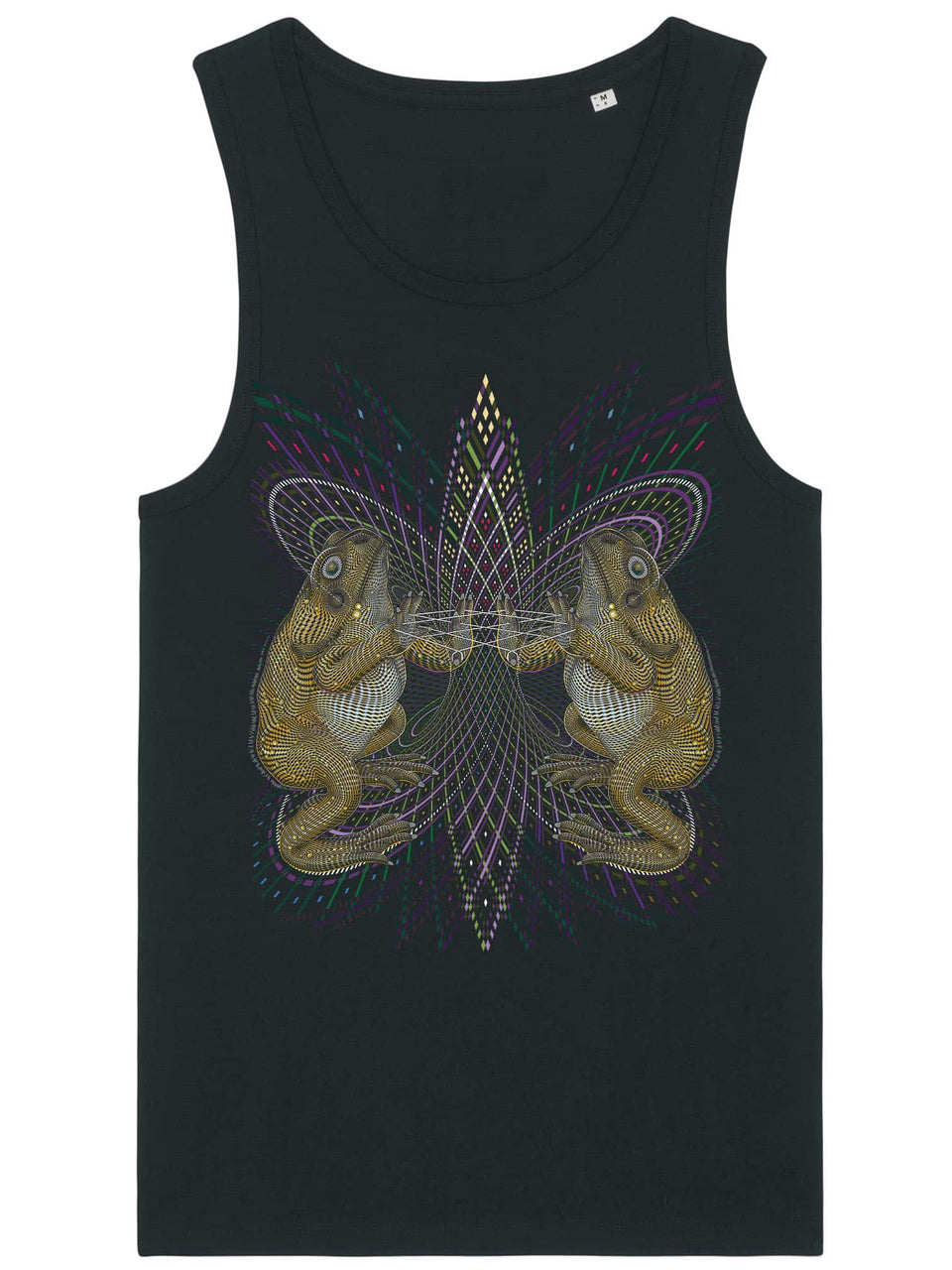 Bufo Alvarius Made To Order Men Tank Top - Black