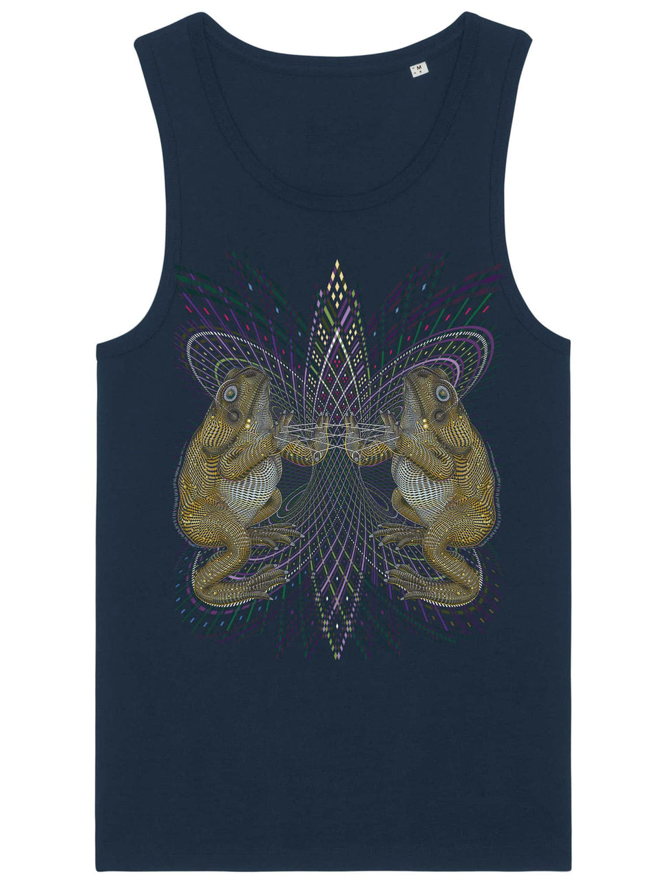 Bufo Alvarius Made To Order Men Tank Top - Navy