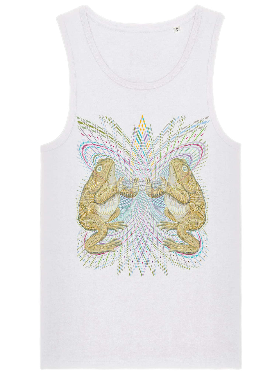 Bufo Alvarius Made To Order Men Tank Top - White