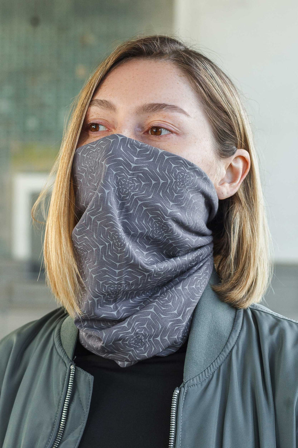 Molekula Mono Face Mask - Grey