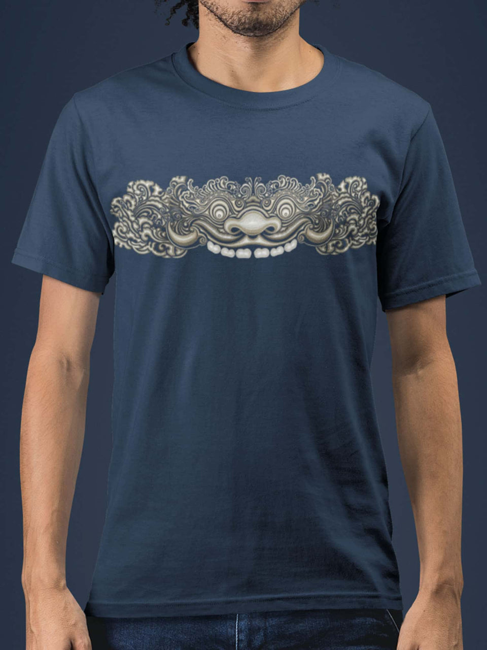 Bhoma Made To Order Men T-Shirt - Navy Blue