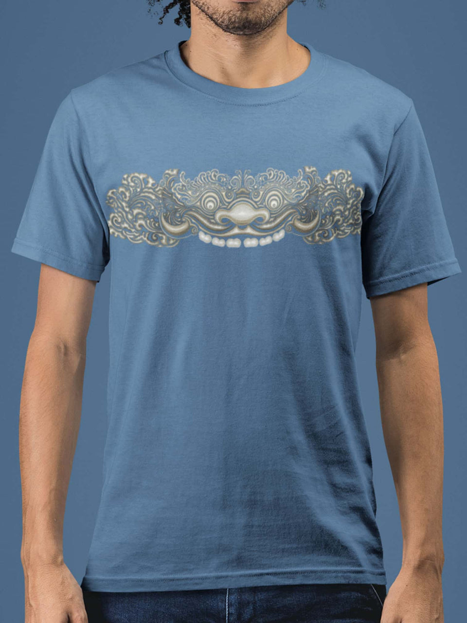 Bhoma Made To Order Men T-Shirt - Faded Denim