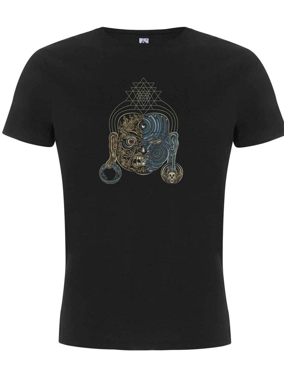 Tripura Face Made To Order Men T-Shirt - Black