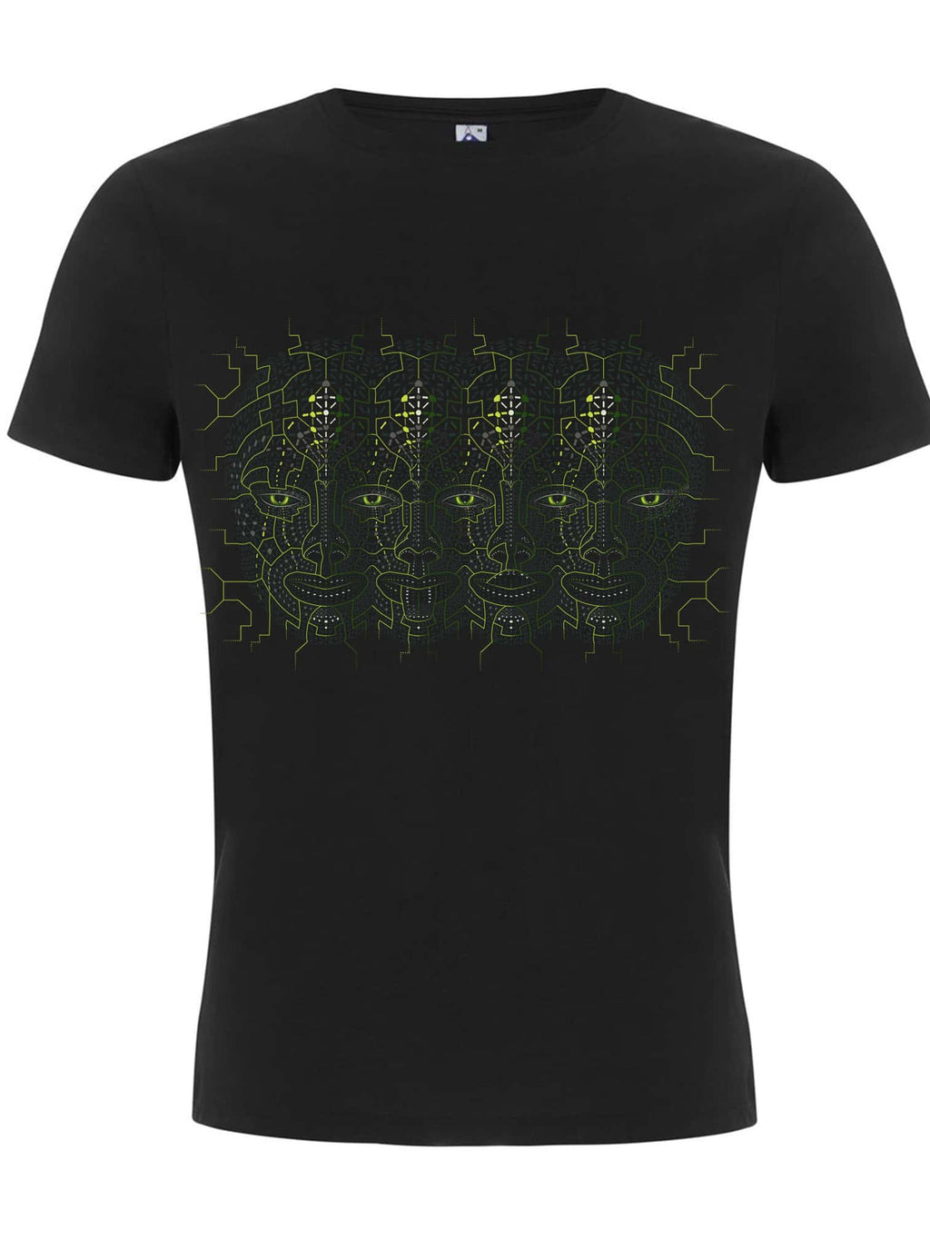 4th Dimension Made To Order Men T-Shirt - Black