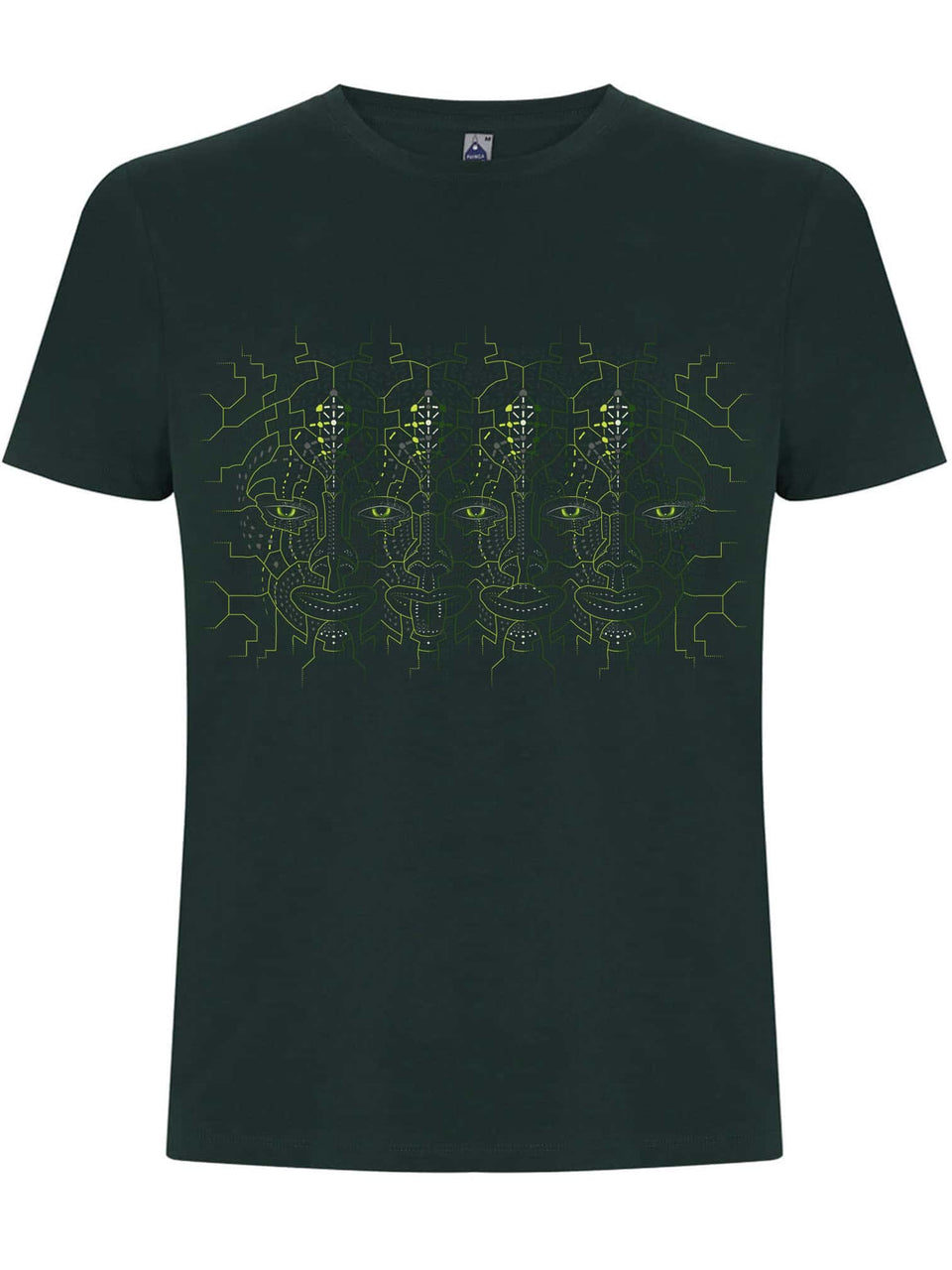 4th Dimension Made To Order Men T-Shirt - Bottle Green