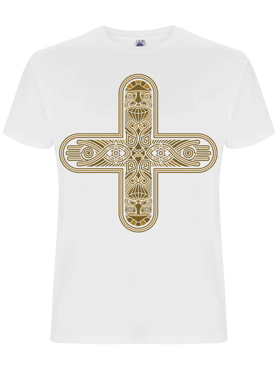 Decross Made To Order Men T-Shirt - White