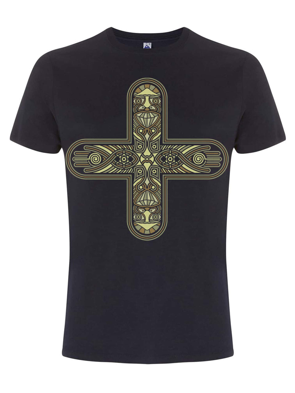 Decross Made To Order Men T-Shirt - Navy Blue