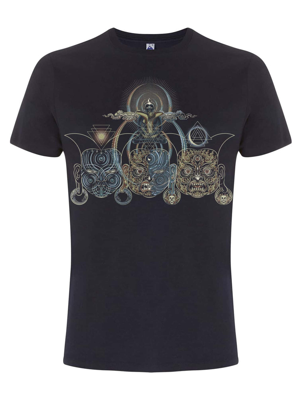 Tripura Made To Order Men T-Shirt - Navy Blue