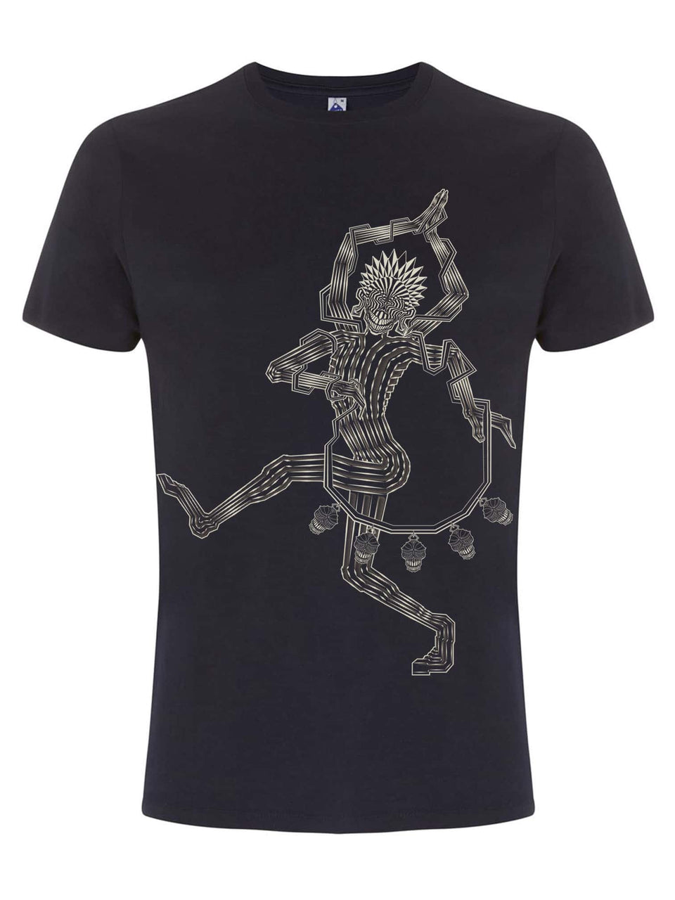Mahakala Made To Order Men T-Shirt -Navy Blue