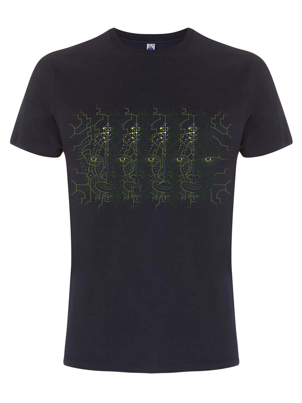 4th Dimension Made To Order Men T-Shirt - Navy Blue