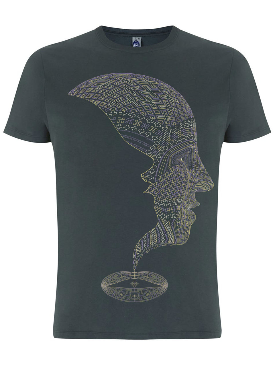 Icaruna Made To Order Men T-Shirt - Light Charcoal