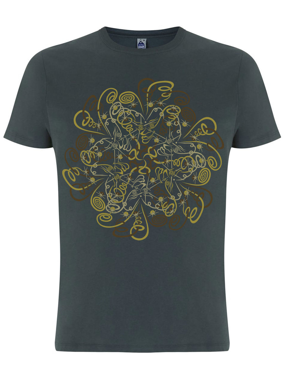 DyMiTry Made To Order Men T-Shirt - Light Charcoal