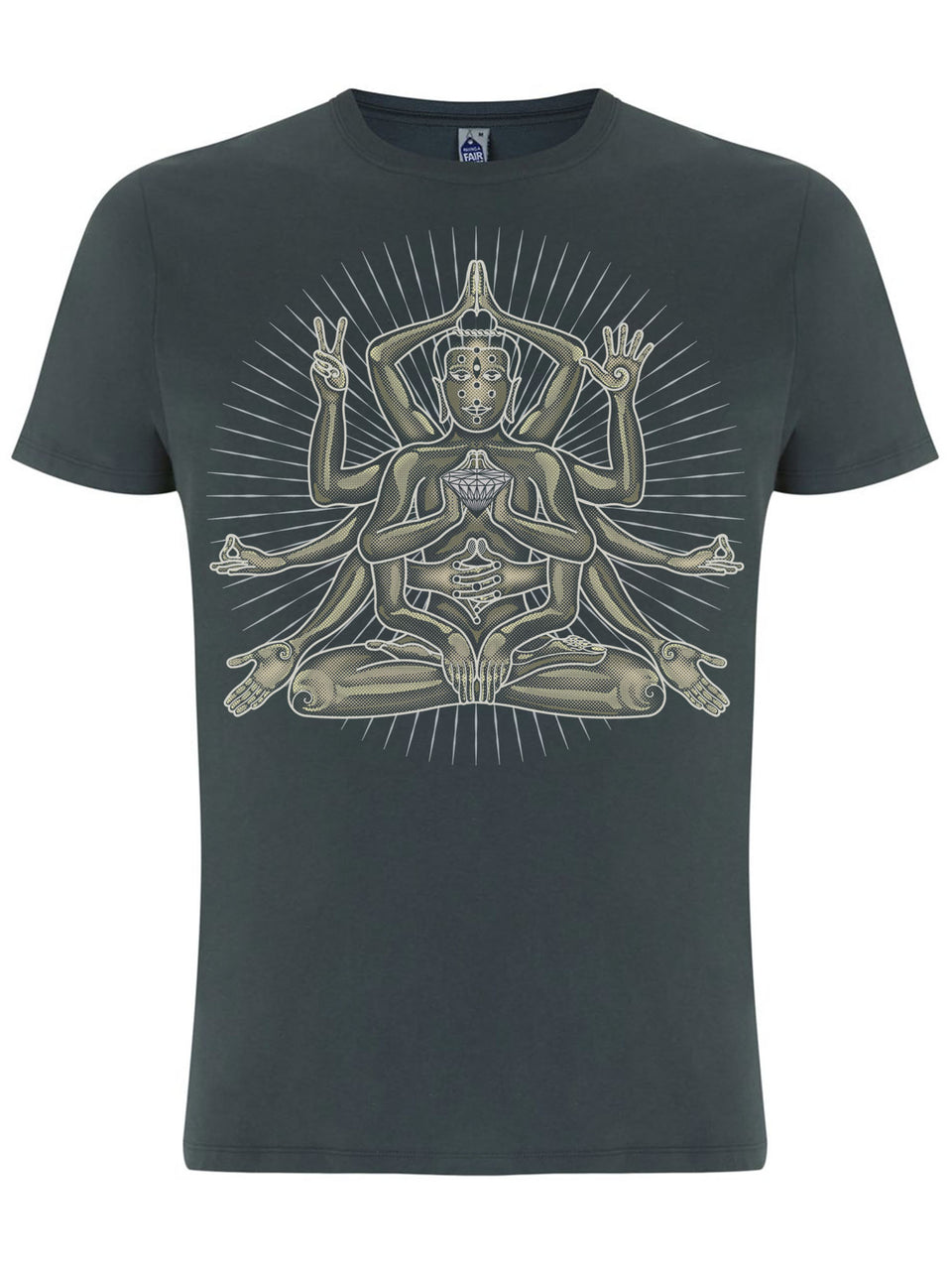 Sheva Made To Order Men T-Shirt - Light Charcoal