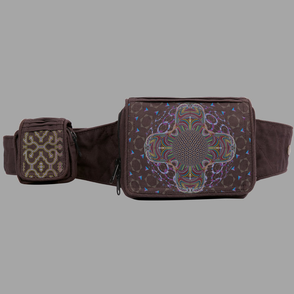 DMT HD Mandala Belt Bag - symbolika