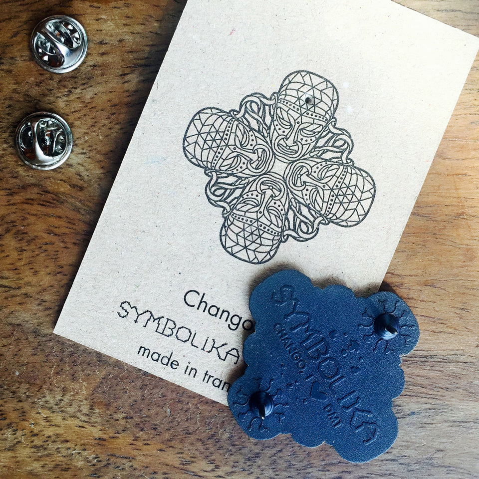 Chango Lapel Pin - symbolika