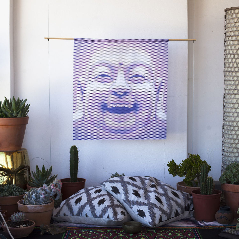 laughing buddha Wall Art - symbolika