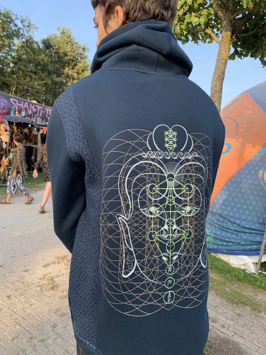 Buddha Vibes Men Jacket - symbolika