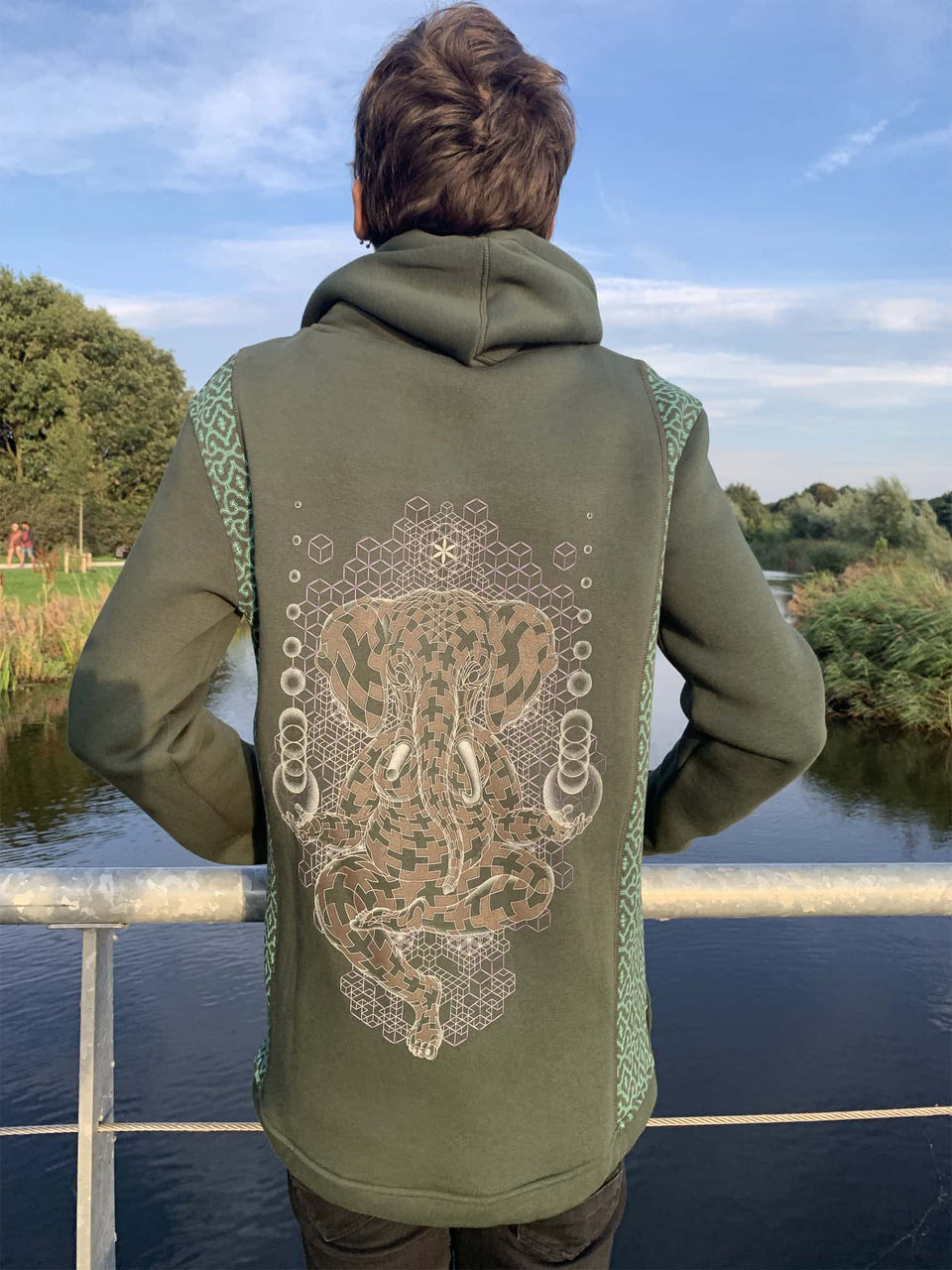 Ganescher Men Jacket - symbolika