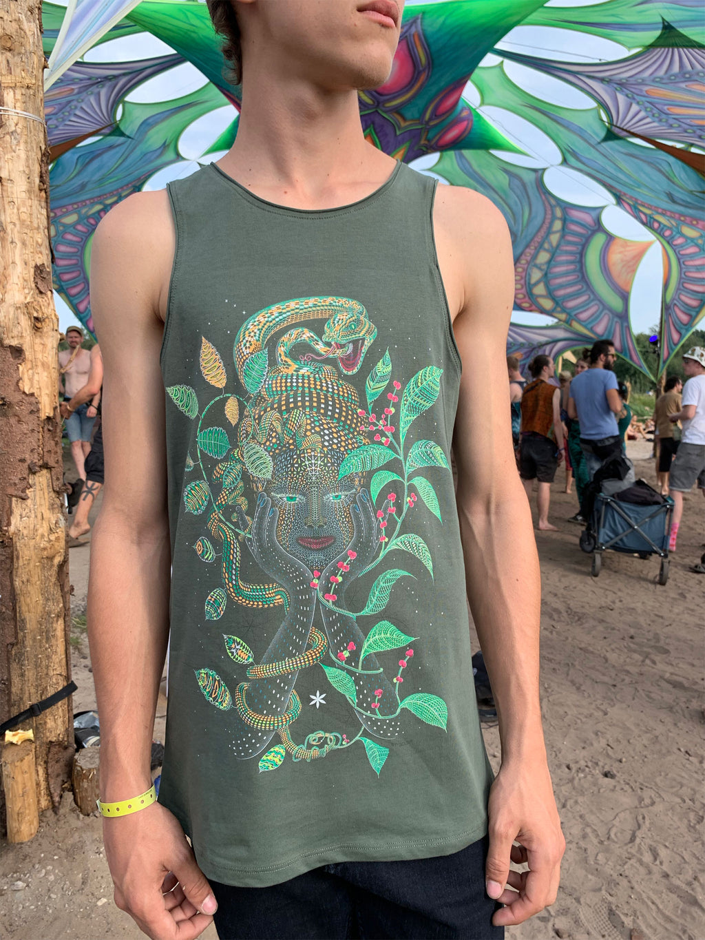 Aya Men Tank Top - symbolika