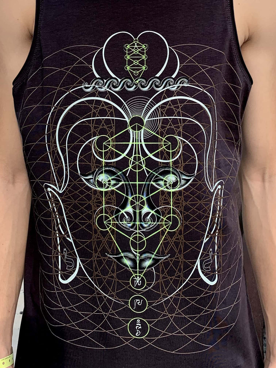 Buddha Vibes Hung Men Tank Top - symbolika