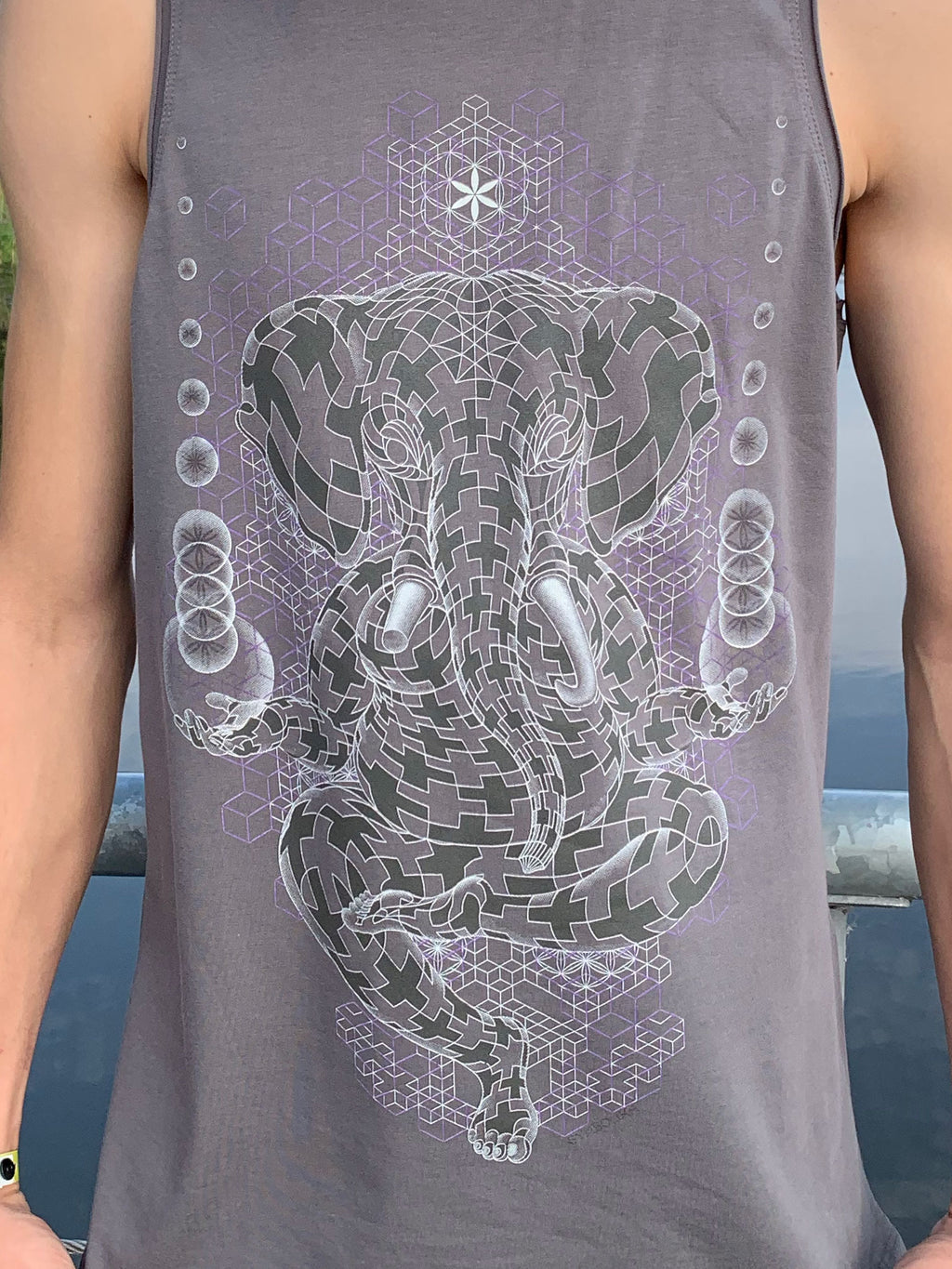 Ganescher Men Tank Top - symbolika