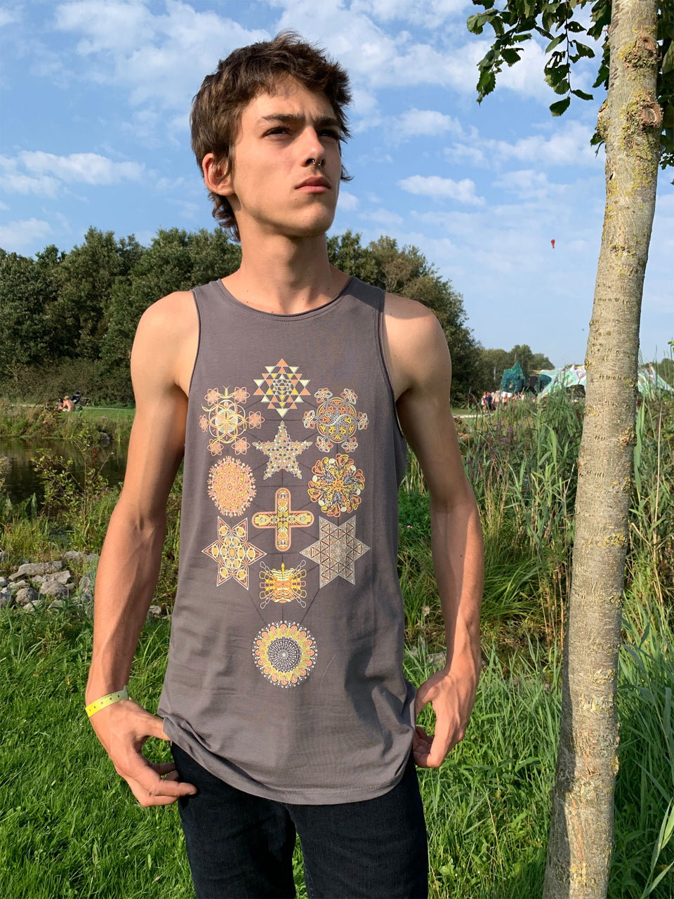 Symbol Tree Men Tank Top - symbolika