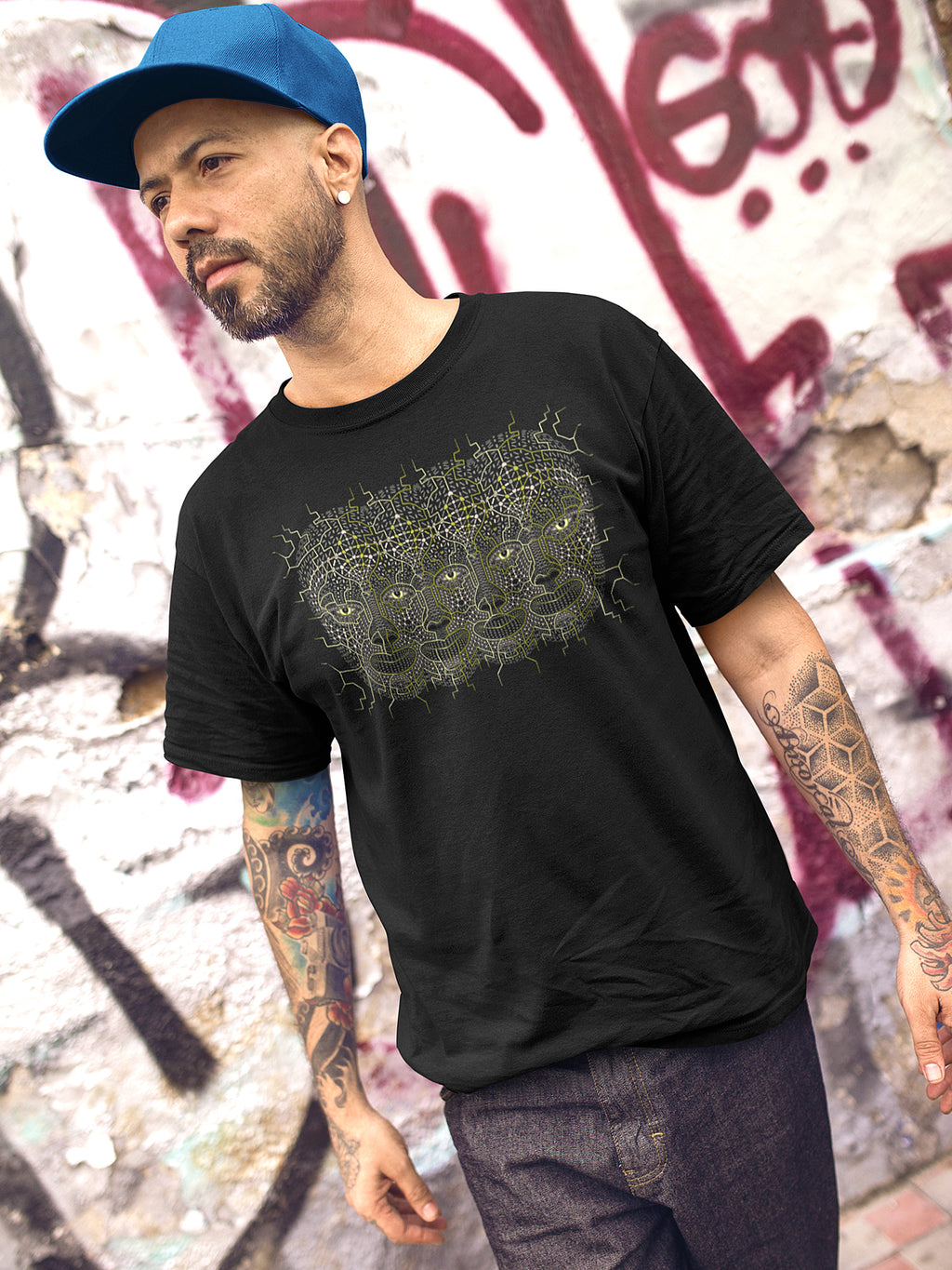 4th Dimension Made To Order Men T-Shirt - symbolika