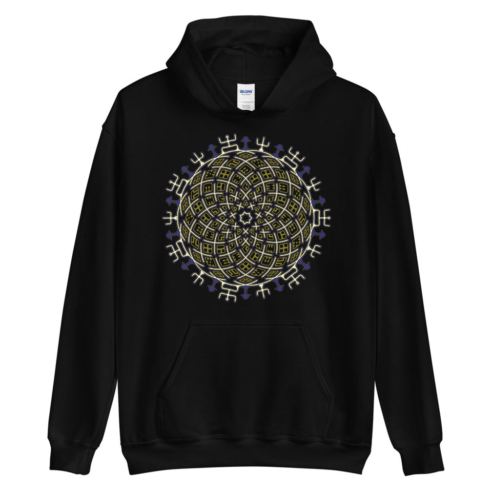 Vortex Cross Women Hoodie - Colors - Made to Order