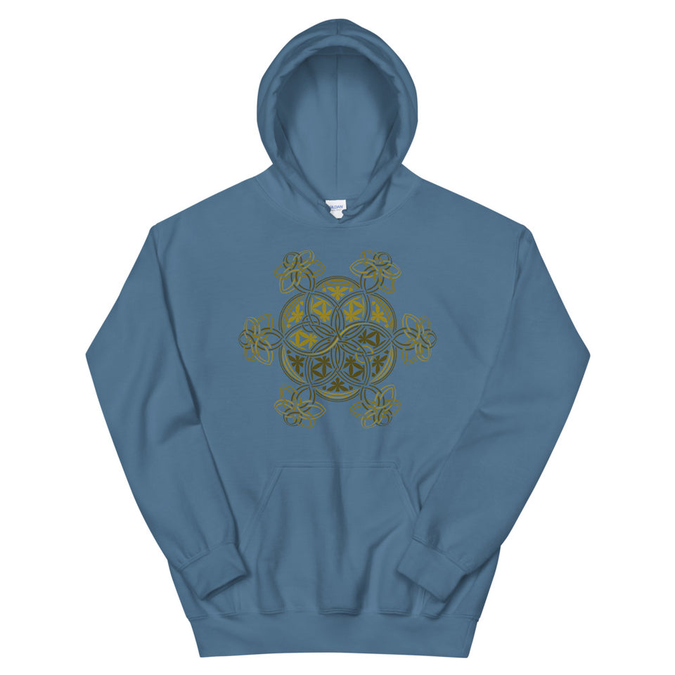 Flower Of Life - YinYang - Women Hoodie - COLORS - Made to Order