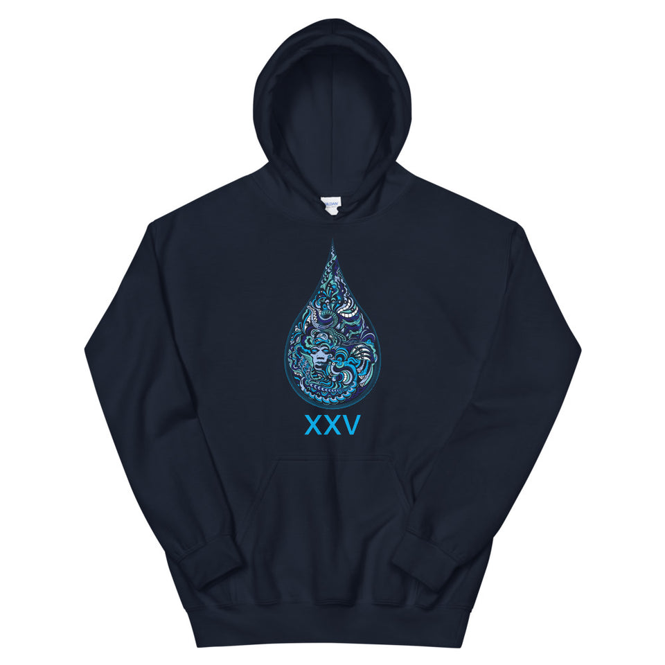 LSD XXV Made to Order Men Sweatshirt Hoodie - Navy